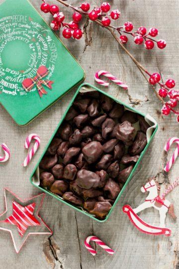 śliwki w rumie w czekoladzie