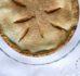 Szarlotka z szarej renety z dużą ilością jabłek (bez dodatku cukru)